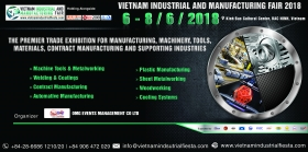 Viet Nam Industrial & Manufacturing Fair (VIMF) 2018 in Bac Ninh
